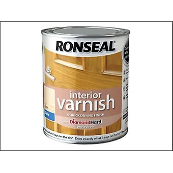 Ronseal Interior Varnish Quick Dry Satin Clear 2.5 Litre