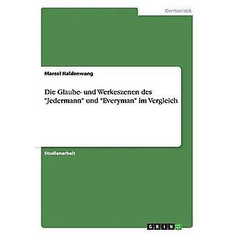 Morrer Glaube und Werkeszenen des Jedermann und Everyman im Vergleich por Haldenwang & Marcel