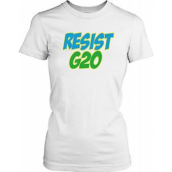 Résistez G20 Ladies T-shirt