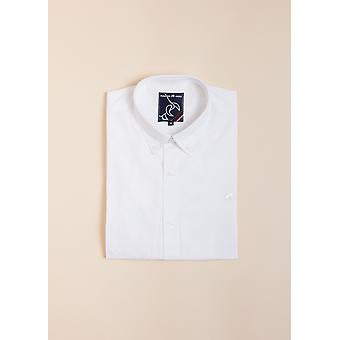 Long Sleeve Signature Poplin Shirt - White