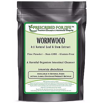 Wormwood - 4:1 Natural Leaf & Stem Extract Powder (Artemisia absinthium)