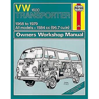 VW Transporter 1600 Service and Repair Manual - 9780857336873 Book