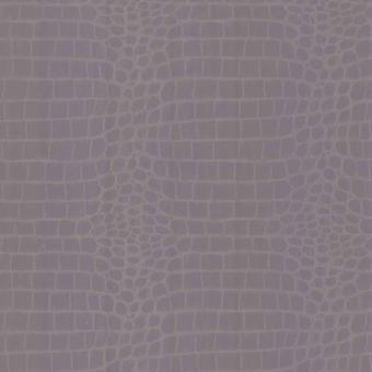 Crocodile Skin Wallpaper Animal Print Tropical Paste The Wall Lilac Silver