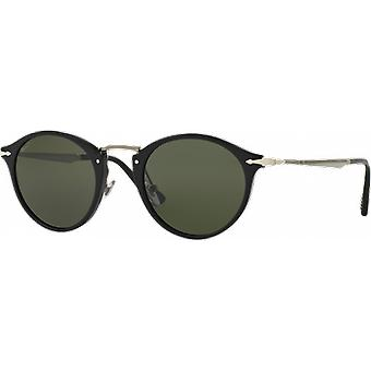 Persol 3166S wide black polarized Green