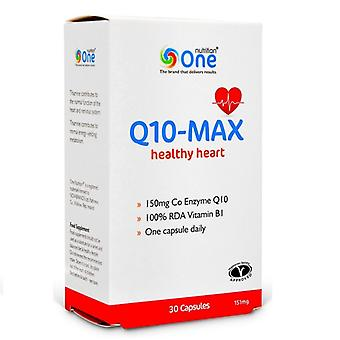 One Nutrition Q10MAX Healthy Heart 151mg Capsules 30
