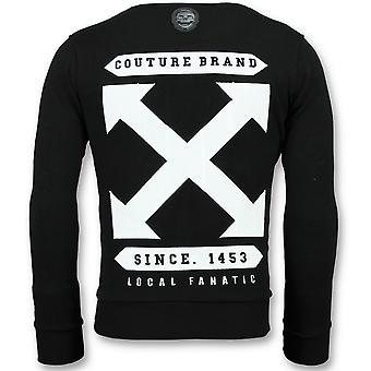 Off Cross-Luxury sweatshirt men-6356Z-Black