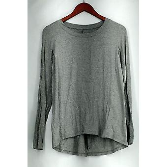 Anybody Petite SP Loungewear Cozy Knit Novelty Sleepshirt Gray A298207