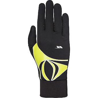 Trespass Mens Runero Reflective Active Sporty Running Gloves