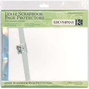 Postbound Page Protectors 12