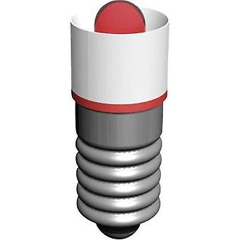 LED bulb E5.5 Red 18 Vac Signal Construct MEDE5503