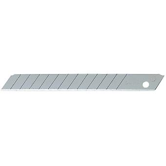 Olfa 80X9Mm Troceable blade. Farve sort tykkelse 0.38mm