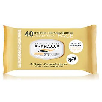 Byphasse Sensitive Cleansing Wipes 40 P Unis