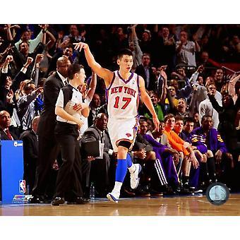 Stampa di foto di azione Jeremy Lin 2011-12 (8 x 10)