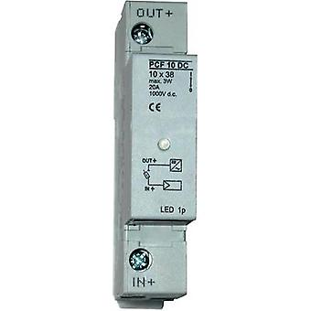 Fuse holder incl. status indicator Suitable for PV fuse 20 A 100