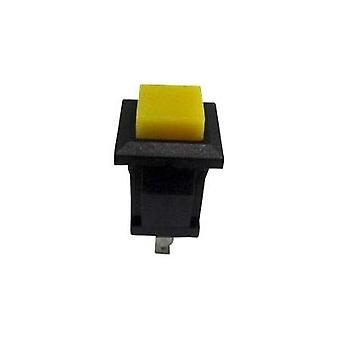 Pushbutton 250 Vac 0.5 A 1 x Off/(On) SCI R13-57A-05YL momentary 1 pc(s)