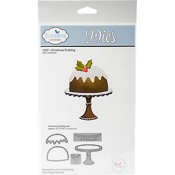 Elizabeth Craft Metal Die-Christmas Pudding EC1247