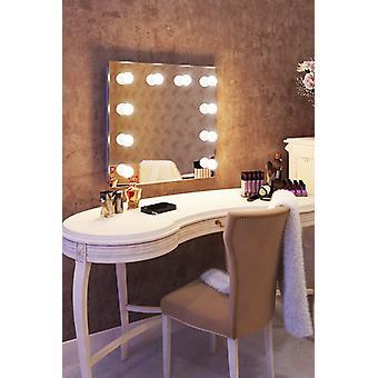 Diamond X Wallmount Hollywood makijaż lustro z funkcją ściemniania LED k89LED