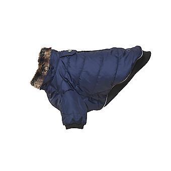 Buster Land Winterjacke blau schwarze Iris Extra groß
