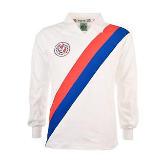 Crystal Palace 1976 -1977 Retro Long Sleeve Football Shirt