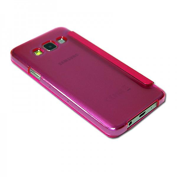 Smart Cover Pink Window for Samsung Galaxy A3 A300 A300F