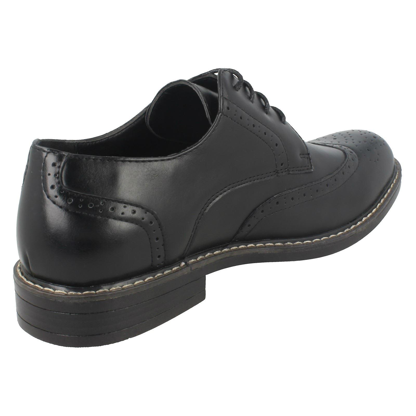 Mens Malvern Lace Up Brogue Shoes A2143