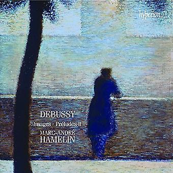 Debussy / Hamelin - libros de imágenes I y II preludios libro II [CD] USA importar