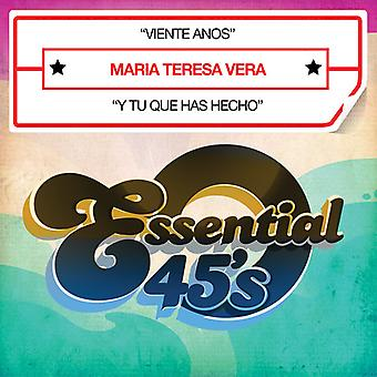 Maria Vera Teresa - Viente A±os [CD] USA import