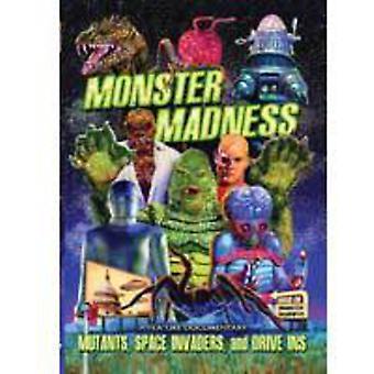 Monster Madness: Importación de mutantes USA Space Invaders y autocinema [DVD]