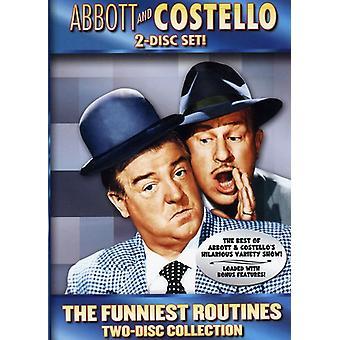 Abbott & Costello - Abbott og Costello: sjoveste rutiner [2 Discs] [DVD] USA import
