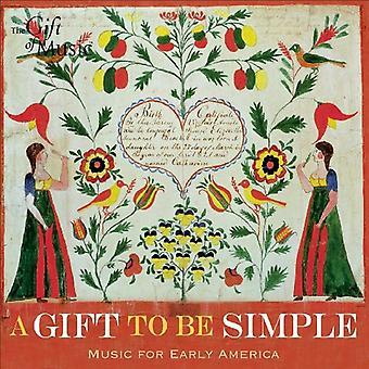 Gave at være simpel - en gave at være Simple [CD] USA import