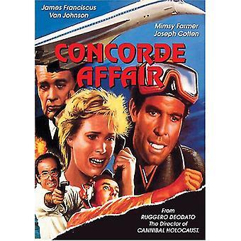 Concorde-sagen [DVD] USA importerer
