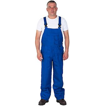 Bib and Brace Work Overalls for men - Nine Pocket - Royal Blue