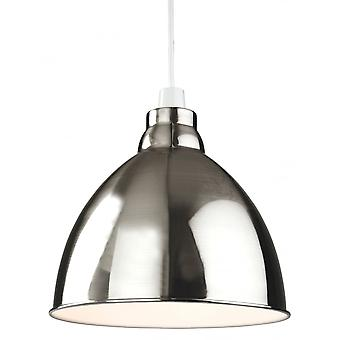 Firstlight Modern Taupe Dome Shade Ceiling Pendant Light Fitting