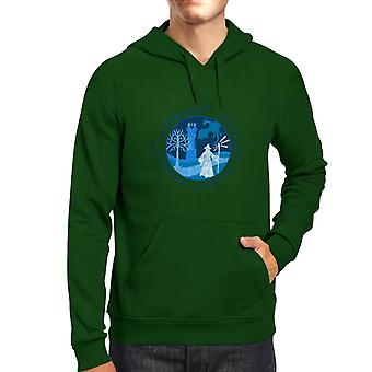 Lord Of The Rings Gandalf A Wise Man's Journey Men's Hooded Sweatshirt