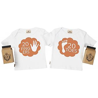 Spoilt Rotten 20 Fingers & Toes Toddler T-Shirt