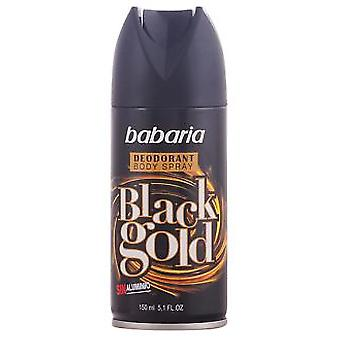 Babaria Black Gold Deodorant Vapo 150 ml