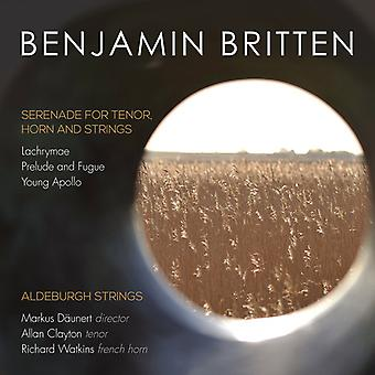 Britten / Watkins, Richard / Clayton, Allan - Serenade for Tenor Horn & Strings [CD] USA import