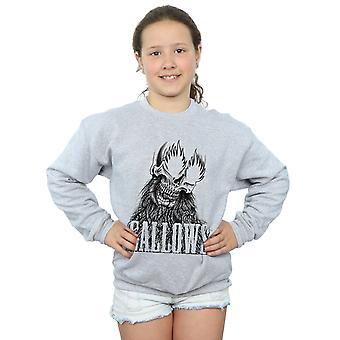 Gallows Girls Black Skull Sweatshirt