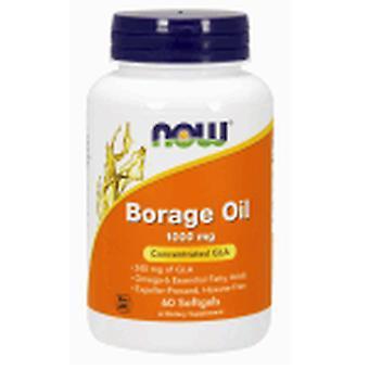 Now Foods Borage Oil 1000 Mg 60 Pearls