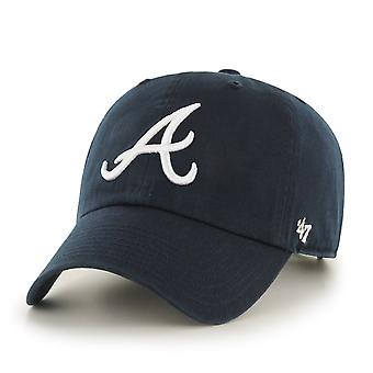 47 fire relaxed fit Cap - MLB Atlanta Braves navy