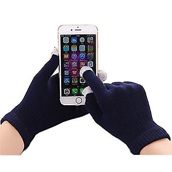 ONX3  (Black) Universal Unisex One Size Winter Touchscreen Gloves For Lenovo K8 Note