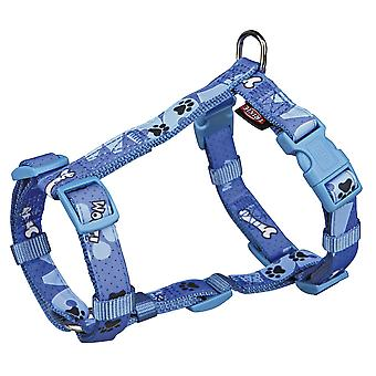 Trixie Modern Art H-Harness Woof For Dogs