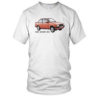 Ford Escort XR3 klassiske bilen Mens T-skjorte