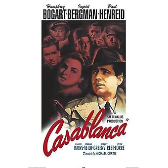 Casablanca (Color) Poster Print (24 x 36)