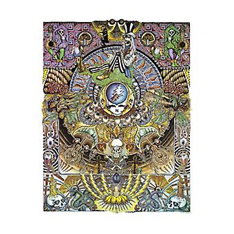 Grateful Dead Psychedelic Poster Poster Print