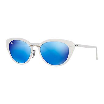 Ray - Ban RB4250 Light Ray White brilliant blue mirrored