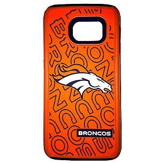 National Football League Dual Hybrid Case for Samsung Galaxy S6 Edge (Denver Bro