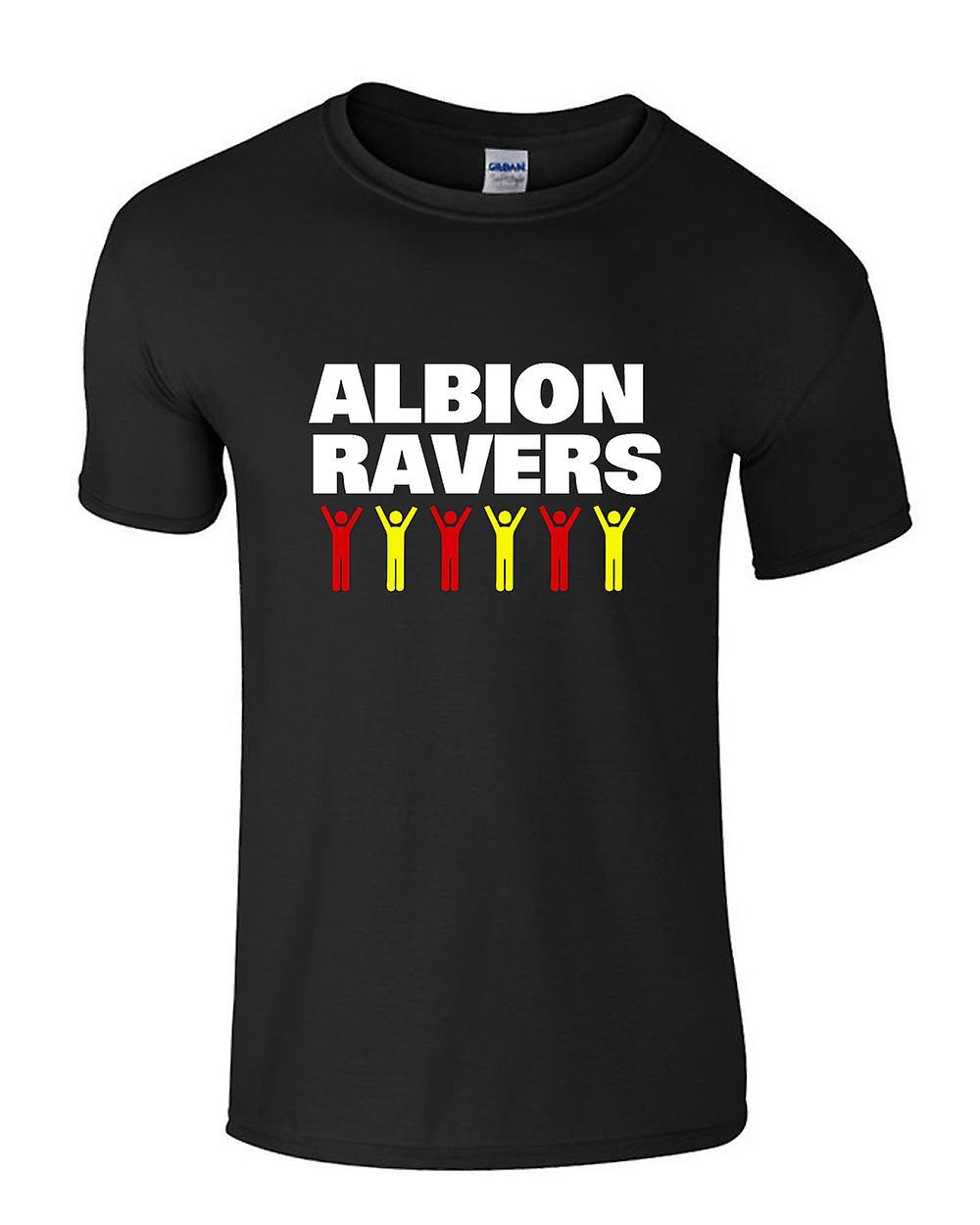 Albion Ravers firande T-Shirt (svart)