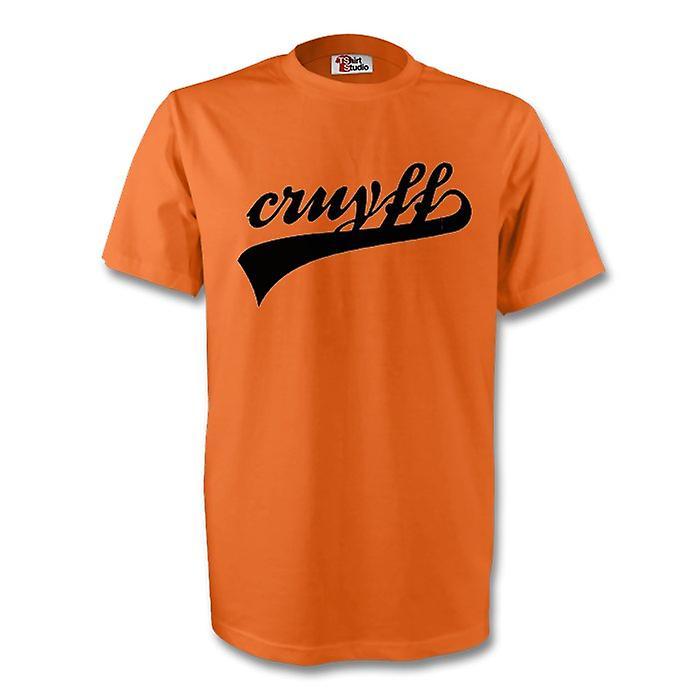 Johan Cruyff Holland Signature Tee (orange)