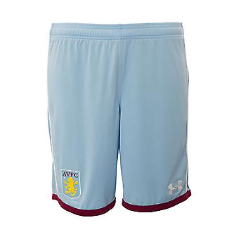 2016-2017 Aston Villa Football Away Shorts (Blue) - enfants